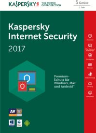 Internet Security 2017 5PC D/F/I