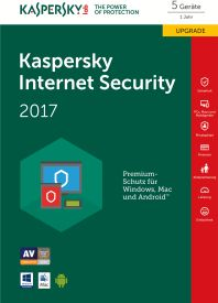 Internet Security 2017 5PC Upgrade D/F/I