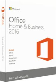 Office 2016 Home & Business 32bit/x64 Deutsch PKC P2