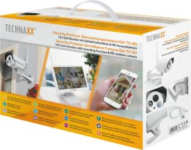 TX-30 Premium Security Camera Set 18.5-Zoll Monitor