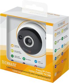 TX-58 Easy IP-Cam Lamp FullHD