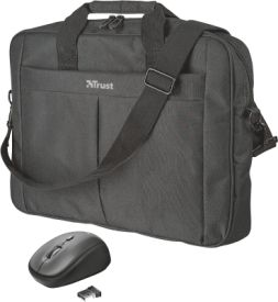 "Primo 16"" Bag with wireless mouse"