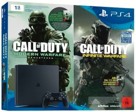 PlayStation4 1TB Black Call of Duty: Infinite Warfare Legacy
