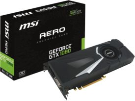 GeForce GTX 1080 AERO 8G OC