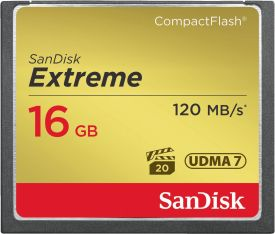 Extreme 120MB/s CF 16GB