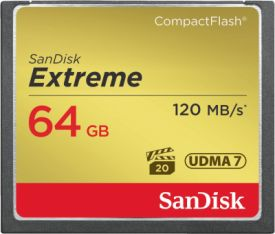 Extreme 120MB/s CF 64GB