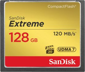 Extreme 120MB/s CF 128GB
