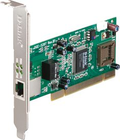 DGE-528T Gigabit Ethernet Adapter 32Bit