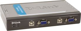 DKVM-4U KVM Switch 4port USB