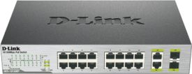 DES-1018MP 18-Port PoE Fast Ethernet Switch