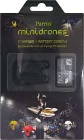 MiniDrones- Charger + batterie + USB cable#(Spare - Gift bo