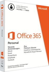 Office 365 Personal - Box-Pack (1 Jahr)