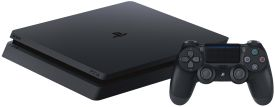 PlayStation 4 500 GB black Slim PS4 Konsole Slim