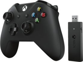 Xbox Controller mit Bluetooth + Wireless Adapter für Windows