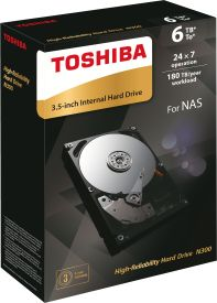N300 6TB NAS High-Reliability Hard Drive
