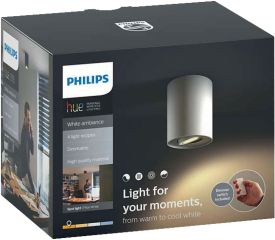 Hue Pillar LED 1-er Spot 350lm inkl. Dimmschalter