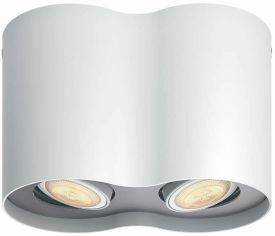 Hue Pillar LED 2-er Spot 2x350lm inkl. Dimmschalter
