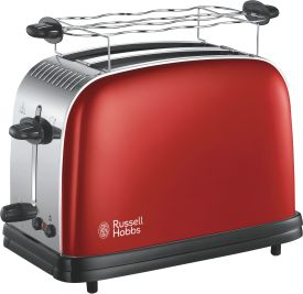 Colours Plus+ Flame Red Toaster