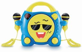 CD-Player CD59 Smiley mit 2 Mikrofonen