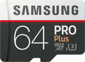 PRO Plus 64GB micro SDXC Card 100MB/s + SD-Adapter
