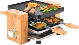 Raclette-Grill Bamboo 4er
