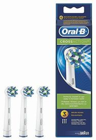 Oral-B Aufsteckbürsten CrossAction 3er + blend-a-med Complet
