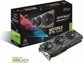 STRIX-GTX1080-8G GAMING (8GB,DVI,HDMI,DP,Active)