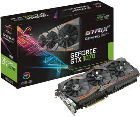 STRIX-GTX1070-8G-GAMING (8GB,DVI,HDMI,DP Active)