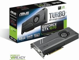 TURBO-GTX1070-8G (8GB,DVI,HDMI,DP,Active)