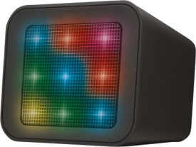 Dixxo Cube Wireless Bluetooth Speaker with party lights
