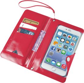 Celly Splash Wallet Case für Smartphones bis 5,7 Zoll