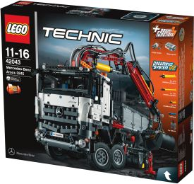 Technic - 42043 Mercedes-Benz Arocs 3245