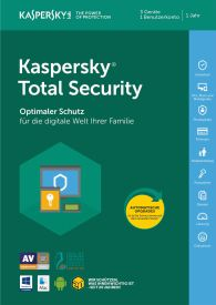 Kaspersky Total Security 5 Geräte 20 Jahre Edition (Code in