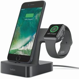 PowerHouse Charge Dock for Apple Watch + iPhone (Lightning)