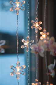 Deco Curtain Snowflake