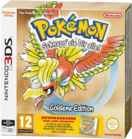3DS Pokémon Gold