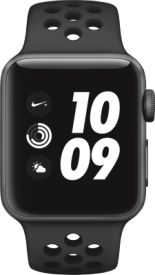 Watch Nike+ GPS, 38mm Alu anthrazit/schwarzem Armband