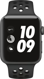 Watch Nike+ GPS, 42mm anthrazit/schwarzem Armband