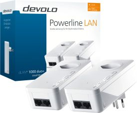 dLAN 1000 duo+ Starter Kit Powerline