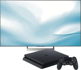 KD-65XE9005BAEP + Playstation 4 Slim 500GB