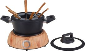 Fleischfondue Set Wood