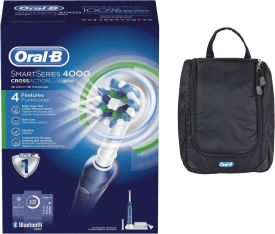 Smart Series 4000 BT CrossAction + Oral-B Tasche