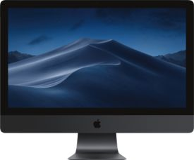 27-inch iMac Pro with Retina 5K display: 3.2GHz 8-core Intel