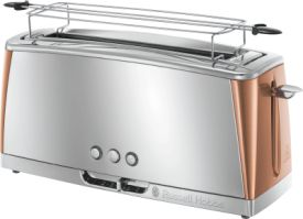 Luna Copper Accents Langschlitz-Toaster