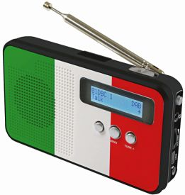 DAB 100 IT - Flagge: Italien
