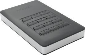 1 TB Store n Go Secure Portable HDD with Keypad Access