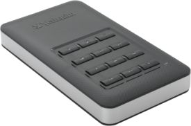 Store n Go Secure Portable SSD 256GB with Keypad Access