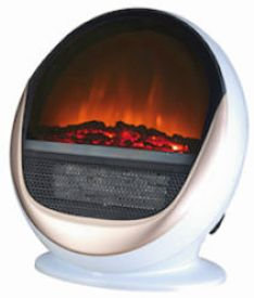 Electric Heater with Flame Effect