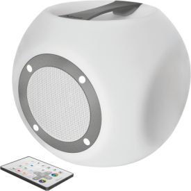 Lara Wireless Bluetooth speaker with multi-colour party ligh