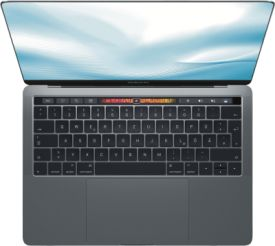 MacBook Pro 15 Zoll, 2.2 GHz i7, 256 GB (2018)